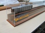 Two Tier O Gauge Display Case 36