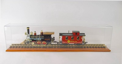 G Scale Model Train Display Case 24""